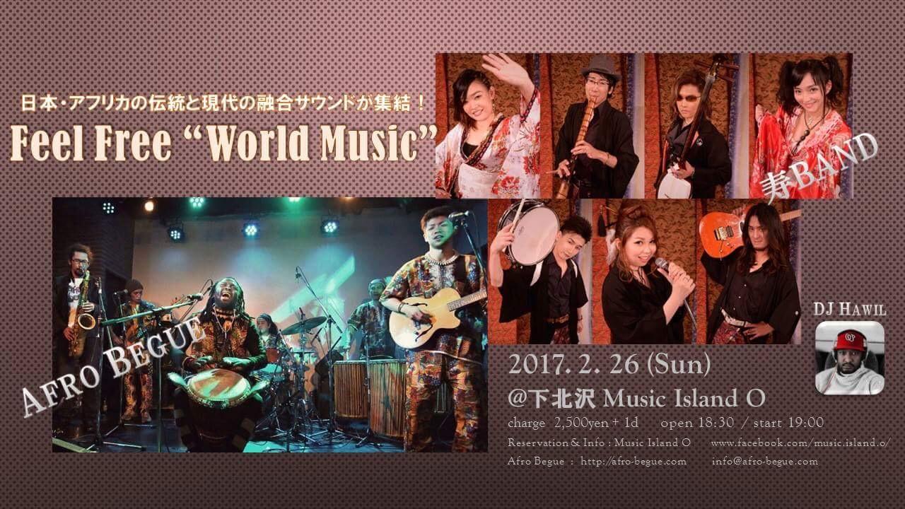 "Feel Free ""World Music"""
