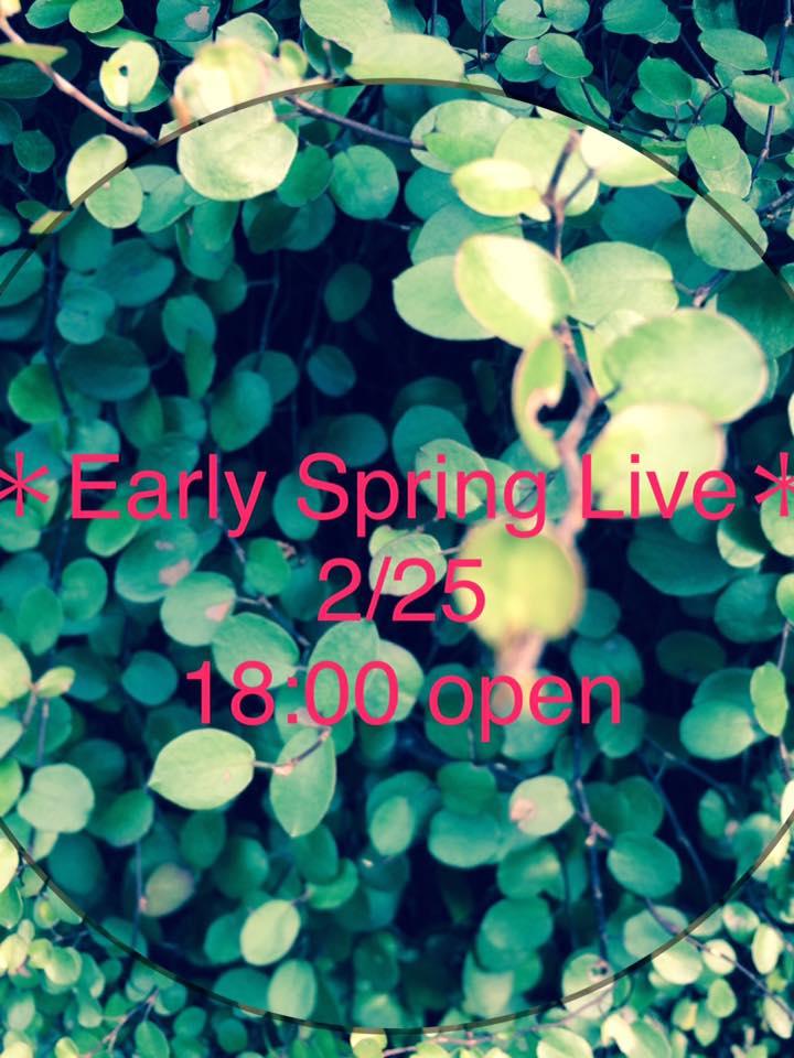 【夜】Early Spring Live